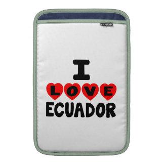 AMO ECUADOR FUNDA  MacBook