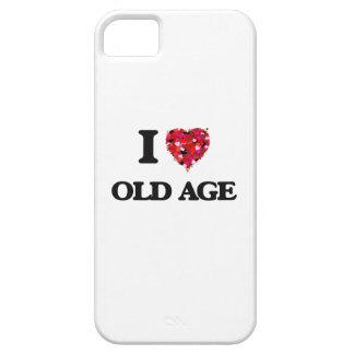 Amo edad avanzada iPhone 5 carcasas
