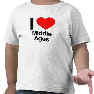 amo Edades Medias Camiseta