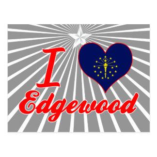 Amo Edgewood, Indiana Postales