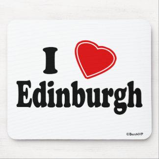 Amo Edimburgo Alfombrillas De Raton