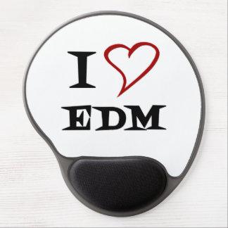 Amo EDM Alfombrillas De Ratón Con Gel