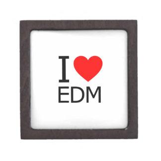 Amo EDM Cajas De Recuerdo De Calidad