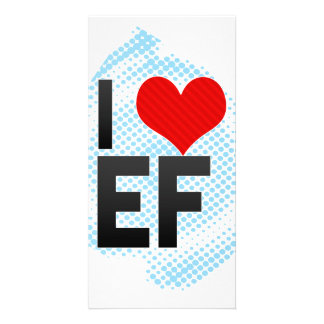 Amo EF Plantilla Para Tarjeta De Foto