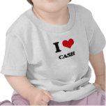 Amo efectivo camisetas