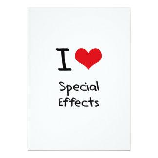 Amo efectos especiales invitacion personal