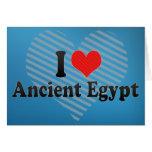Amo Egipto antiguo Felicitaciones