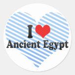 Amo Egipto antiguo Pegatina Redonda
