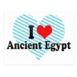 Amo Egipto antiguo Postal
