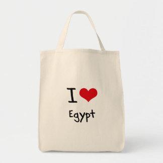 Amo Egipto Bolsa Tela Para La Compra