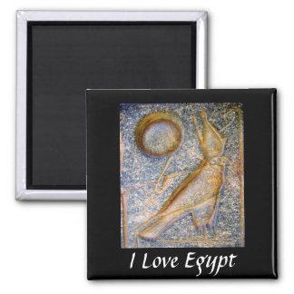 Amo Egipto - Horus Imán Cuadrado