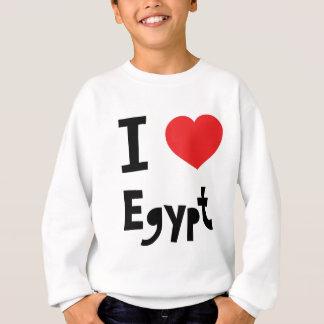 Amo Egipto Sudadera