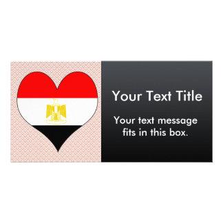 Amo Egipto Tarjeta Fotografica