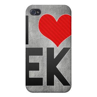Amo EK iPhone 4 Carcasas