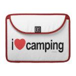 Amo el acampar funda macbook pro