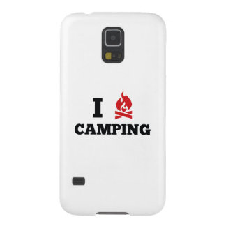 Amo el acampar funda para galaxy s5