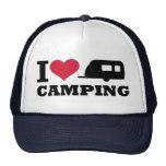 Amo el acampar gorra