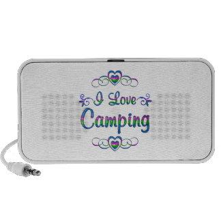 Amo el acampar PC altavoces