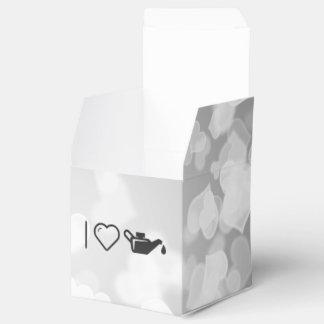 Amo el aceite cajas para detalles de boda