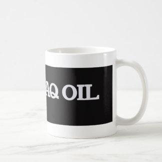 Amo el aceite de Iraq Taza Básica Blanca