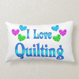 Amo el acolchar almohadas