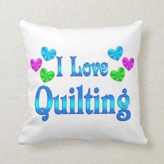 Amo el acolchar almohada