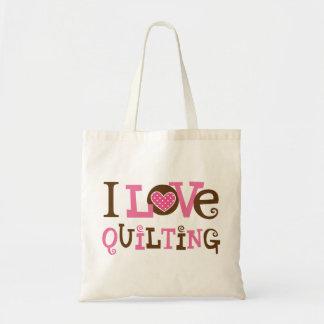 Amo el acolchar (el regalo de Quilter)