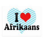 Amo el africaans postales