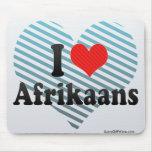 Amo el africaans tapete de ratón
