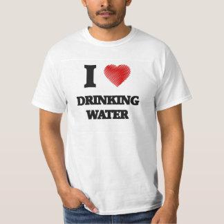 Amo el agua potable remera