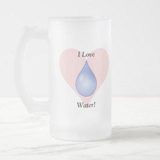 ¡Amo el agua! Taza De Café