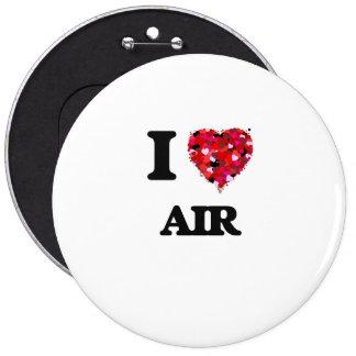Amo el aire pin redondo 15 cm