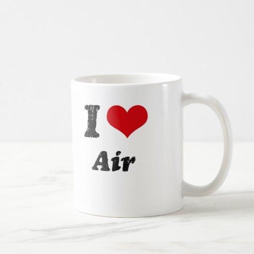 Amo el aire tazas