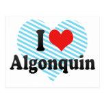Amo el Algonquin Postales