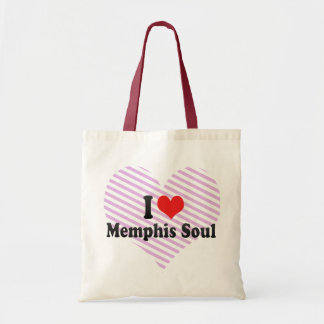 Amo el alma de Memphis Bolsa De Mano