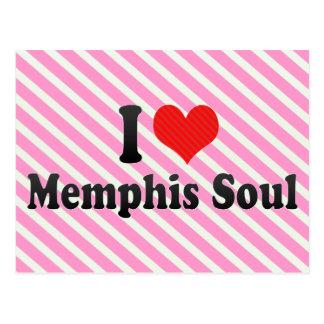 Amo el alma de Memphis Tarjetas Postales