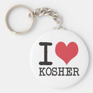 ¡Amo el AMOR - KOSHER - los productos y los diseño Llavero Personalizado
