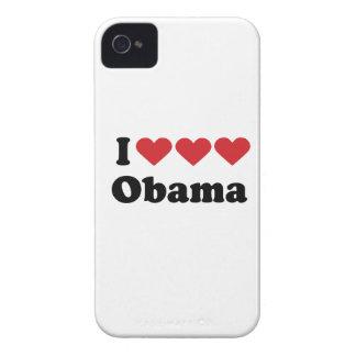 AMO EL AMOR OBAMA - .PNG Case-Mate iPhone 4 COBERTURA