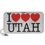 ¡Amo el amor UTAH del amor! Portátil Altavoces