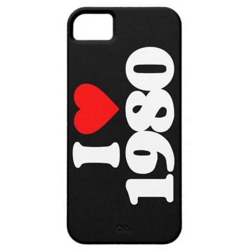 AMO EL AN O 80 iPhone 5 Case-Mate CÁRCASA