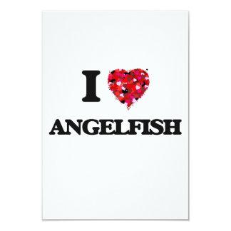 """Amo el Angelfish Invitación 3.5"""" X 5"""""""