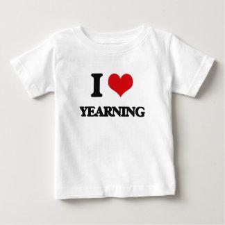 Amo el anhelar tee shirts