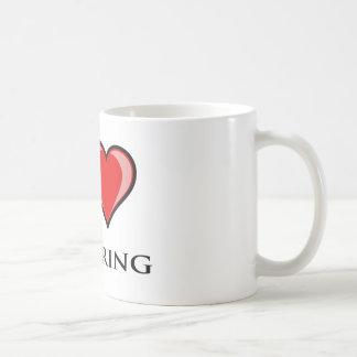 Amo el animar taza clásica