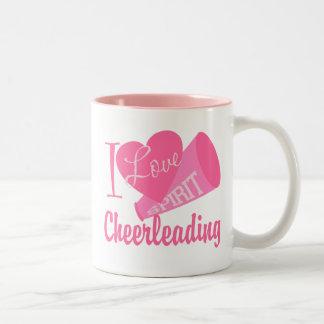 Amo el animar taza de dos tonos