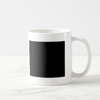 Amo el aplanar taza básica blanca
