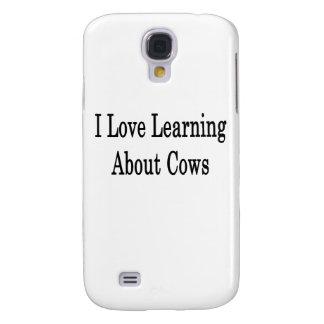 Amo el aprender sobre vacas