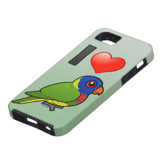 Amo el arco iris Lorikeets Funda Para iPhone SE/5/5s