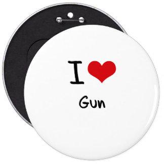 Amo el arma pin