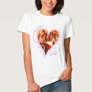 Amo el arte - camiseta playera