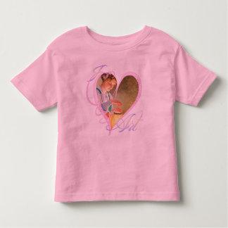 Amo el arte - camiseta playeras